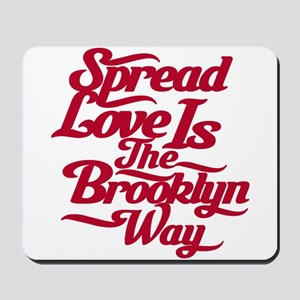 Brooklyn Love Red Mousepad