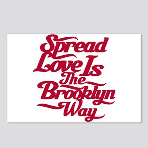 Brooklyn Love Red Postcards (Package of 8)