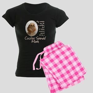 Cocker Mom Women's Dark Pajamas