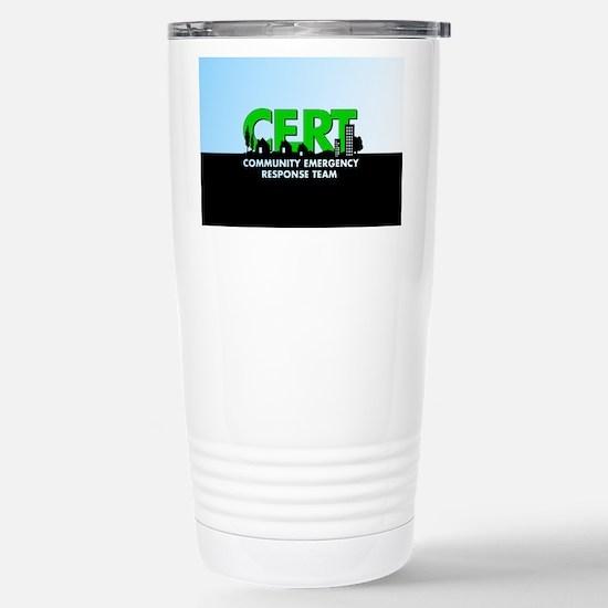 Cert Stainless Steel Travel Mug