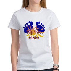 Slip Into Aloha Women's T-Shirt