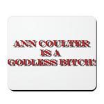 Anti-Ann Coulter Mousepad