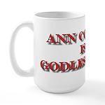 Anti-Ann Coulter Large Mug