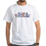 Anti-Ann Coulter White T-Shirt