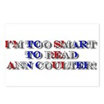 Anti-Ann Coulter Postcards (Package of 8)