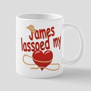 James Lassoed My Heart Mug