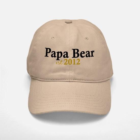 New Papa Bear 2012 Baseball Baseball Cap