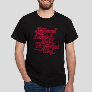 Brooklyn Love Red Dark T-Shirt