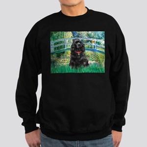 Bridge / Black Cocker Spaniel Sweatshirt