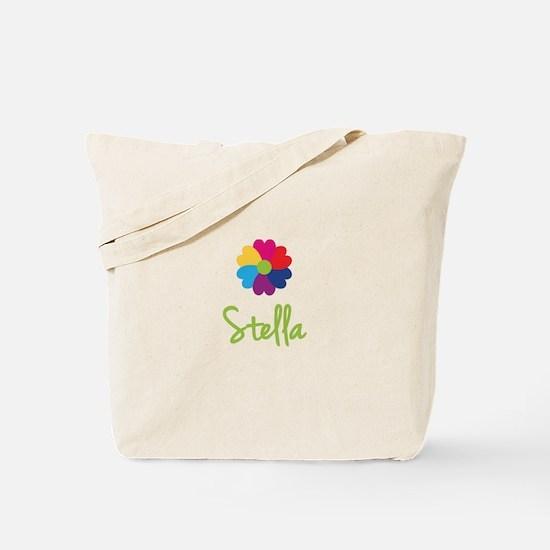 Stella Valentine Flower Tote Bag