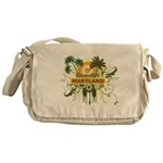 Palm Tree Maryland Messenger Bag
