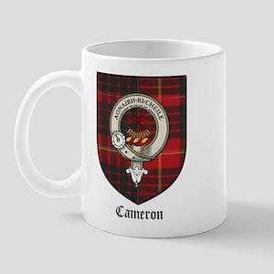 Cameron Clan Crest Tartan Mug
