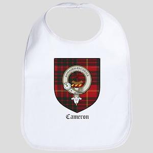 Cameron Clan Crest Tartan Bib