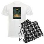 New York Central Building Men's Light Pajamas