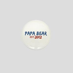 New Papa Bear 2012 Mini Button