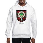 Christie Clan Badge Tartan Hooded Sweatshirt