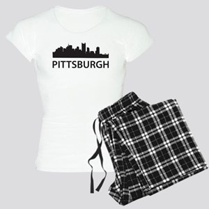 Pittsburgh Skyline Women's Light Pajamas