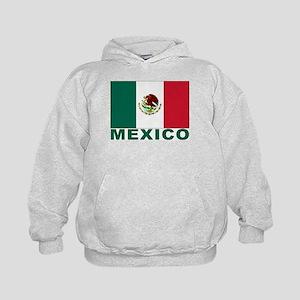 Mexico Flag Kids Hoodie
