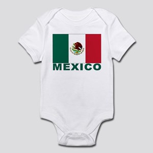 Mexico Flag Infant Creeper