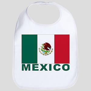 Mexico Flag Bib