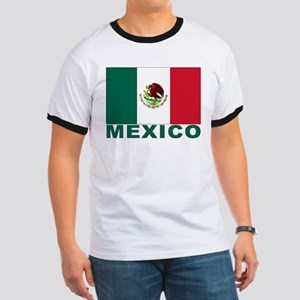 Mexico Flag Ringer T