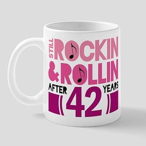 42nd Anniversary Funny Gift Mug