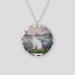 Seine / Necklace Circle Charm