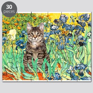 Irises / Tiger Cat Puzzle