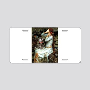 Ophelia / Tiger Cat Aluminum License Plate