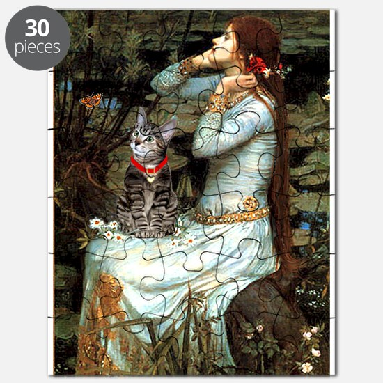 Ophelia / Tiger Cat Puzzle