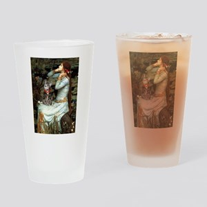 Ophelia / Tiger Cat Drinking Glass