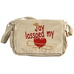 Jay Lassoed My Heart Messenger Bag