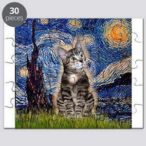 Starry / Tiger Cat Puzzle