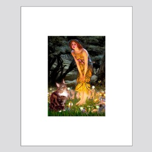 Fairies / Maine Coon Small Poster
