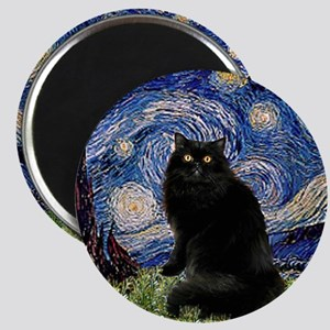Starry Night /Persian (bl) Magnet