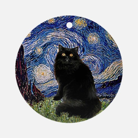 Starry Night /Persian (bl) Ornament (Round)