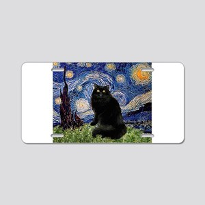 Starry Night /Persian (bl) Aluminum License Plate