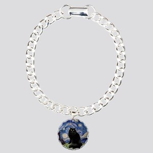 Starry Night /Persian (bl) Charm Bracelet, One Cha