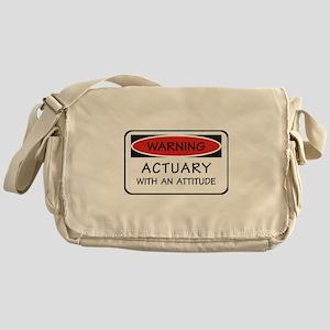 Actuary With An Attitude Messenger Bag