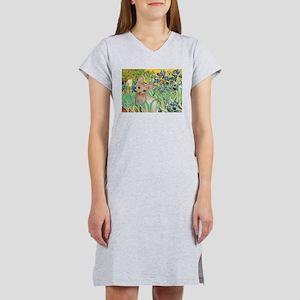 Irises / Sphynx Women's Nightshirt
