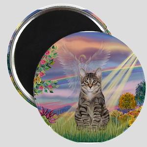 Cloud Star / Tiger Cat Magnet