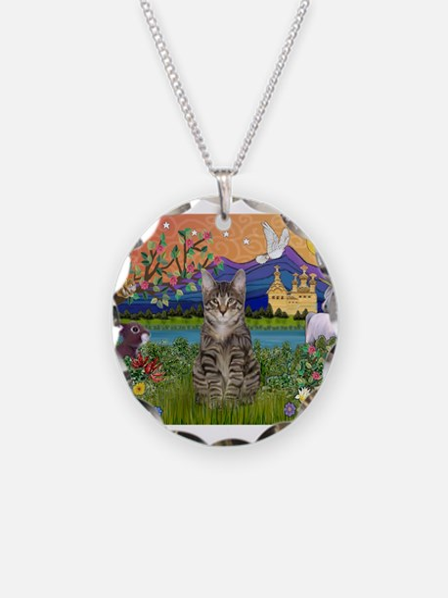 Fantasy Land / Tiger Cat Necklace