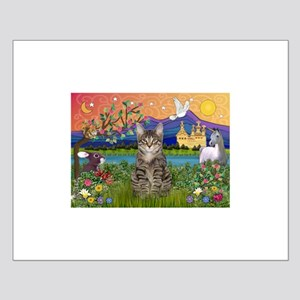 Fantasy Land / Tiger Cat Small Poster