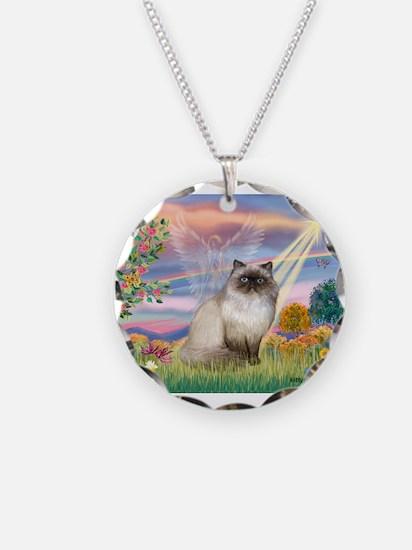 Cloud Angel & Himalayan (#1) Necklace