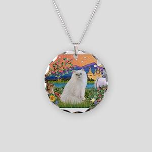 Fantasy Land / Persian(w) Necklace Circle Charm