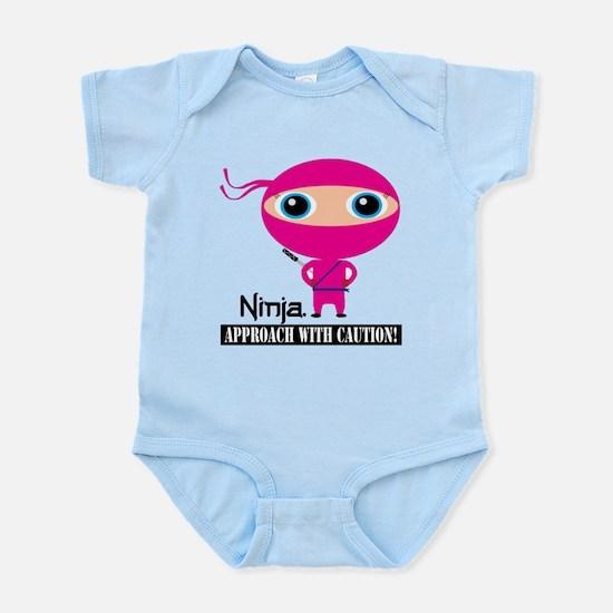 Ninja Girl Infant Bodysuit