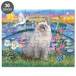 Lilies / Ragdoll Puzzle