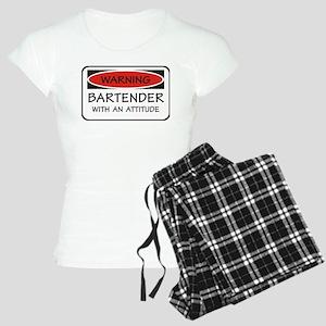Attitude Bartender Women's Light Pajamas