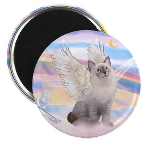 Ragdoll (#1) cat Angel Magnet