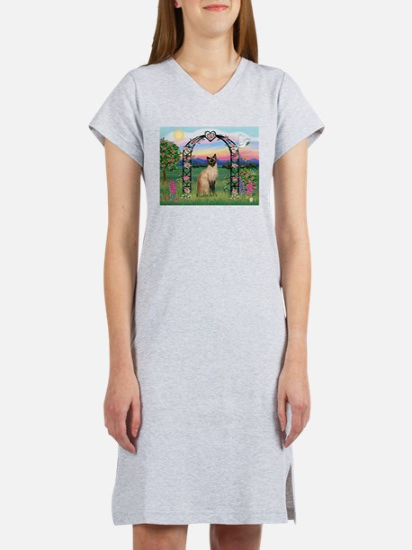 Rose Arbor / Siamese Women's Nightshirt